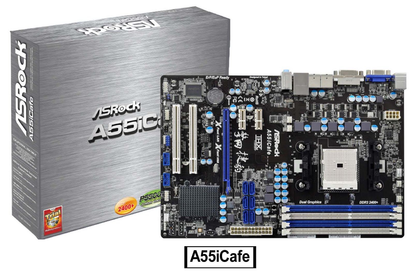 Asrock A55iCafe AMD Fusion Windows 8