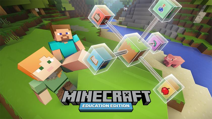 Disponible Minecraft para la educación