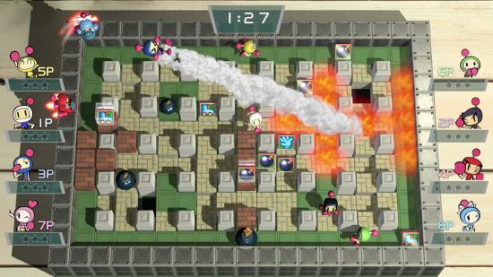 Gamers Disponible Super Bomberman R Para La Nintendo Switch