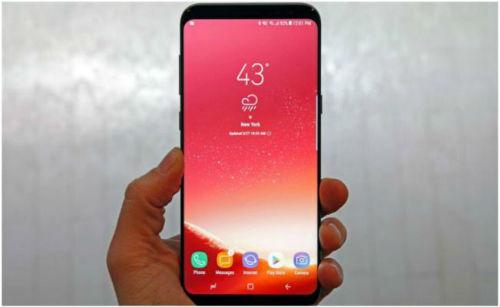 Samsung soluciona la pantalla roja en su nuevo Galaxy S8