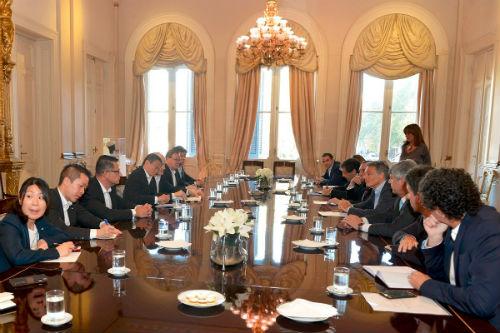 Jack Ma y Ministros_firma