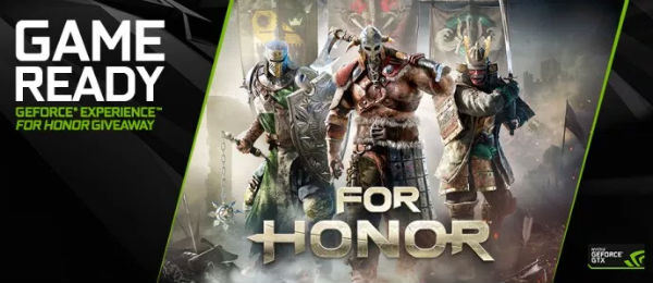 #Gamer – Usuarios de GeForce Experience podrán recibir una copia de For Honor
