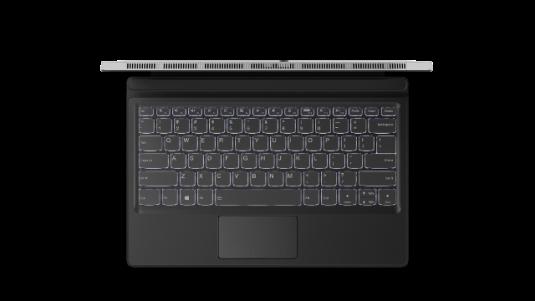 Miix 520's ergonomic full-sized keyboard_platinum