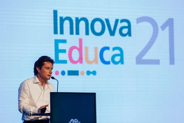 Discurso Ministro de Educación Sánchez Zinny