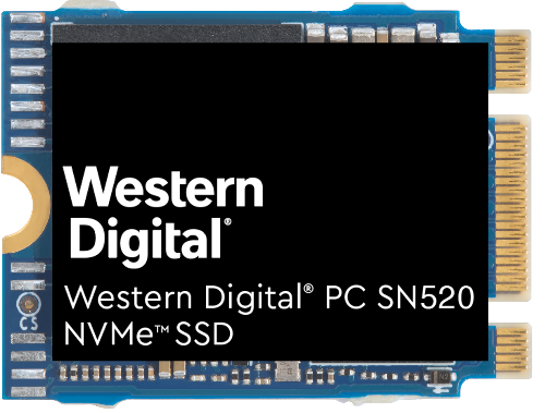 Western Digital® PC SN720 y Western DigitalPCSN520