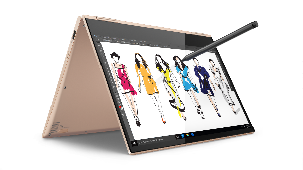 Write or draw on Windows Ink on 13-inch Lenovo Yoga 730