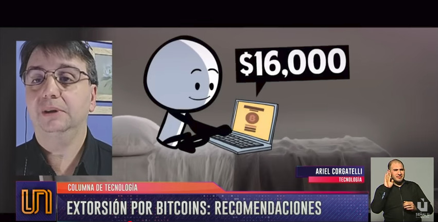 #VideoColumna – ¿Cómo evitar extorsiones a través de Bitcoins? @unidiversidad_