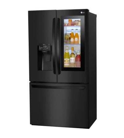 Refrigerator_Matte Black InstaView_2