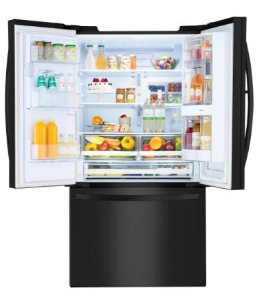 Refrigerator_Matte Black InstaView_4