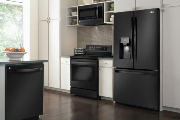 Refrigerator_Matte Black InstaView_5