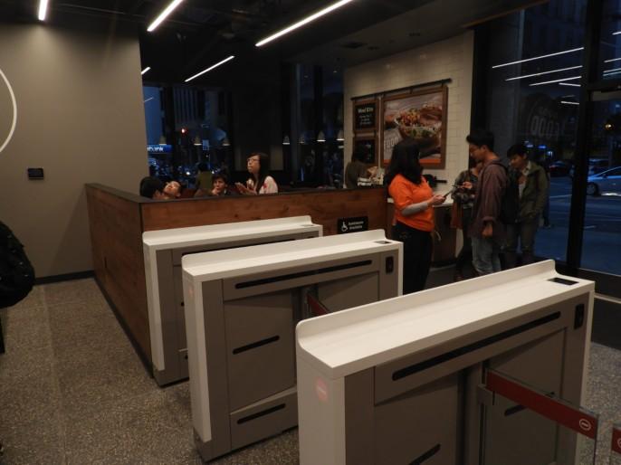 Puertas con escaneo de QR en la entrada