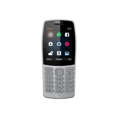 hmdglobal nokia210 grey front png-289741-low