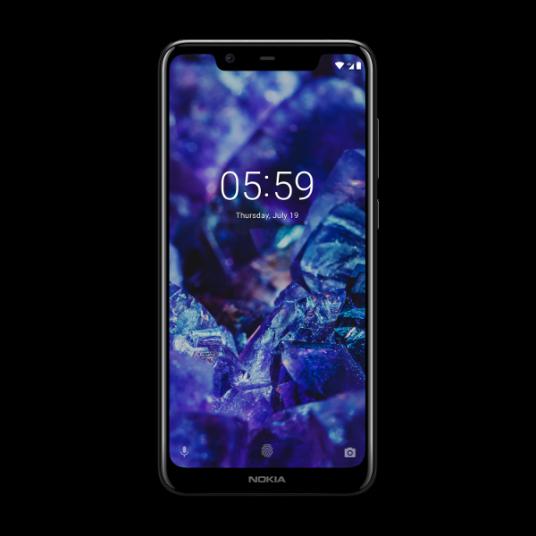 Nokia 5.1 Plus - Negro