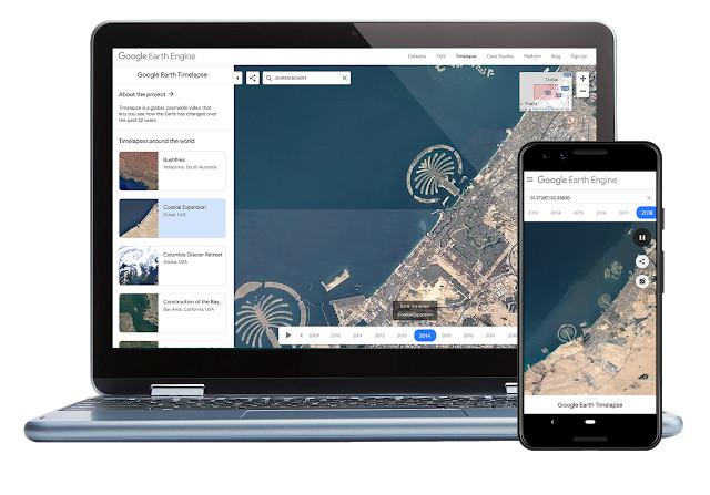 #App – Disponible Earth Timelapse, ahora en dispositivos móviles