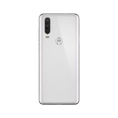 Motorola One Action-NA-Pearl White-BACKSIDE