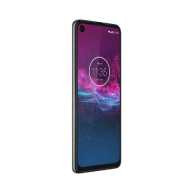 Motorola One Action-NA-Pearl White-DYN FRONT LEFT