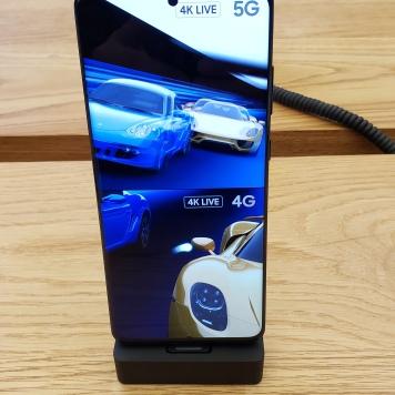 La calidad de la pantalla del S20 Ultra 5G es muy buena