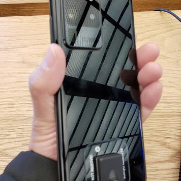 Así se ve el S20 Ultra 5G por detras