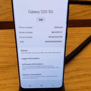 """El más """"pequeño"""" de la familia el Galaxy S20 5G"""