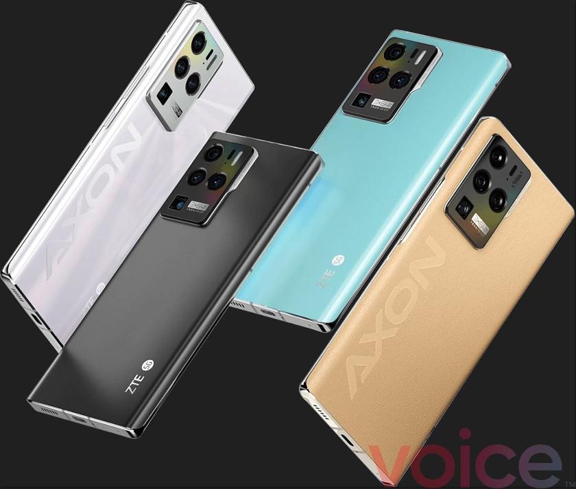 Filtrado el smartphone ZTE Axon 30 Ultra
