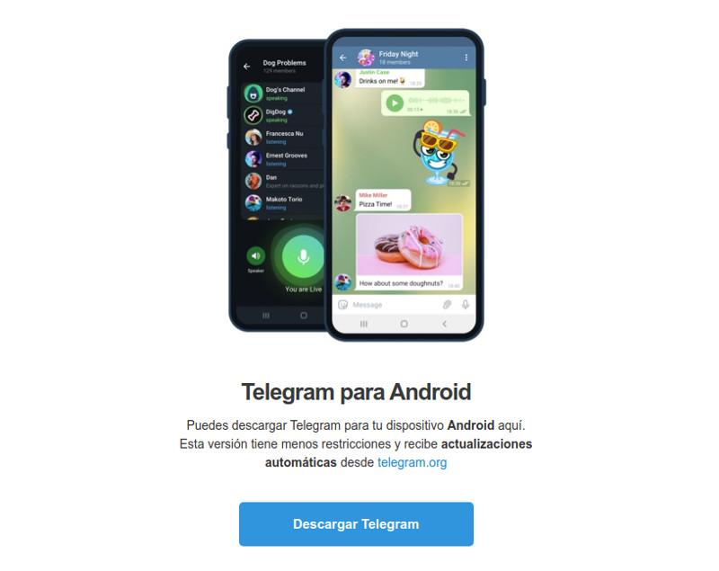 #Radiogeek – Telegram quiere que bajemos una APK para su app en Android – Nro 1897