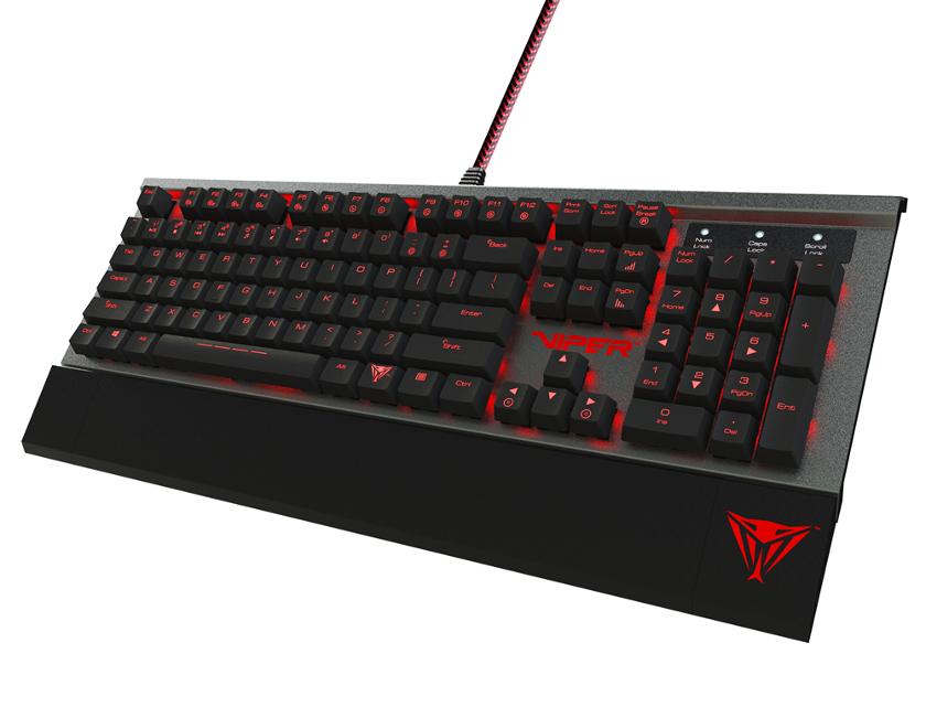 #Gadget – VIPER V730, el teclado mecánico de PATRIOT